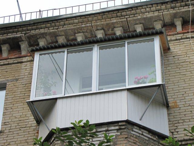 сталинский балкон с выносом
